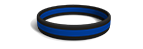 Police Silicone Wristband