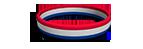 Patriotic Silicone Wristband
