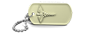 Glow In The Dark Medical Alert Dog Tag