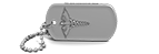 Silver Medical Alert Dog Tag
