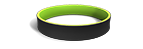 Black and Lime Green Wristbands