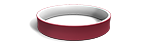 Cardinal and White Wristbands