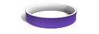 White and Purple Wristbands