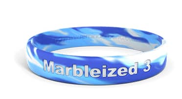 Marble Silicone Wristband