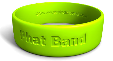 Phat Silicone Wristband