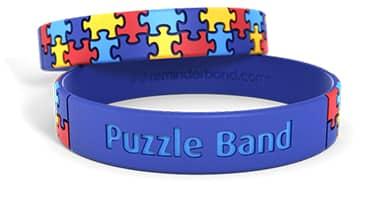 Puzzle Silicone Wristband