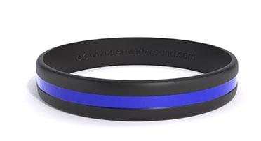 Striped Silicone Wristband
