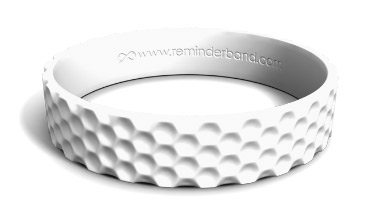 Golf Textured Silicone Wristband
