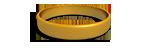 Gold Silicone Wristband