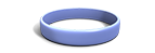 Periwinkle Silicone Wristband