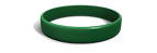 Forest Green Silicone Wristband