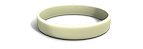 Glow-in-the-Dark Silicone Wristband