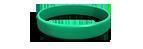 Green Silicone Wristband