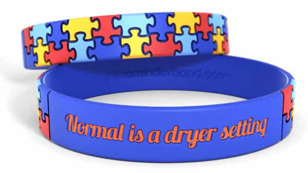 Autism Awareness Wristband