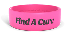 Find A Cure Wristband