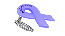 Stomach Cancer Ribbon Keychain