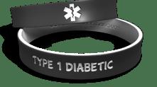 Diabetes Medical Alert Bracelet
