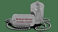medical alert heart bracelet