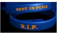 Example of memorial bracelets