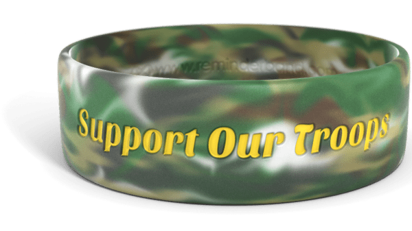 Military Support Our Troops Wristband