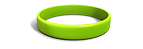 Lime Green Silicone Wristband