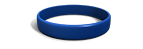 Navy Blue Silicone Wristband
