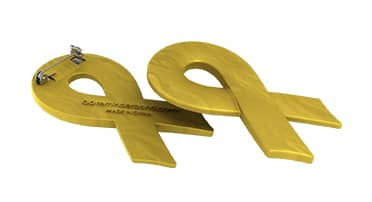 Ribbon Pin