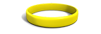Solar Yellow Silicone Wristband