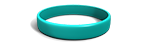 Teal Silicone Wristband